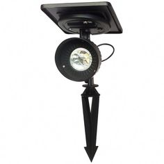 "Gama Sonic 103001 Progressive Garden Solar Powered 5"" Wide 6000K LED Flood Light Features  Solar poweredSolar panel may be mounted on light or detached and installed up to 8 feet awayTwo mounting stakes included - One for the light and one for the solar panelDusk to Dawn operation - Provides up to 6 hours of lighting after a full day's chargeWeather-resistant cast aluminum constructionIntegrated 6000K LED lightingNo electrical wiring requiredRated for wet Solar Panel Cost, Solar Panels, Solar Led Spotlight, Landscape Lighting, Solar Power Batteries, Solar Spot Lights, Deck Lighting, Sign Lighting"