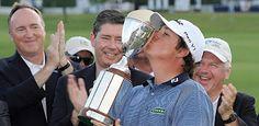 Jason Dufner wins first PGA Tour Event, the 2012 Zurich Classic