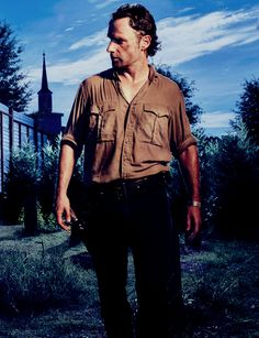 dailytwdcast: New 'The Walking Dead' Season 6 Character Portrait of Andrew Lincoln as Rick Grimes Walking Dead Season 6, Walking Dead Tv Show, Walking Dead Series, Walking Dead Cast, Fear The Walking Dead, Best Zombie, Andrew Lincoln, Rick Grimes, Character Portraits