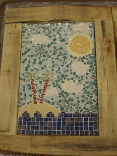 Grade 8. This pin is an example of a mosaic tile that a student made. The purpose is to teach them how to do this. I would use this during an art lesson. Students would like this because it is fun and is something they can keep or give to their parents.