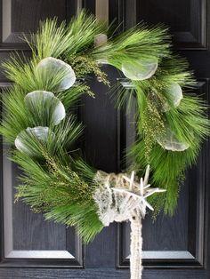 Coastal inspired wreath