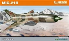 MiG-21R 'Recon Fishbed' 1/48 scale kit from Eduard.