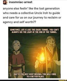 & anyone else feelin' like the lost generation who Avatar Airbender, Avatar Aang, Team Avatar, Avatar The Last Airbender Funny, Avatar Funny, Avatar Cosplay, Fire Nation, Zuko, Avatar Series