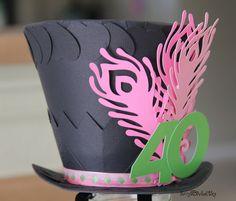 Fascinator. Forty. Top Hat. Alice In Wonderland. Madhatter.