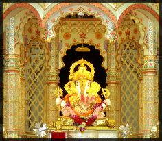 Pune, India. A beautiful Ganesh temple with lots of significance to my family.