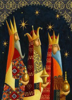 Three Wise Men by Jan Pashley