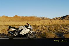 Shot by me, K1300S High Speed Trip, Death Valley, CA.