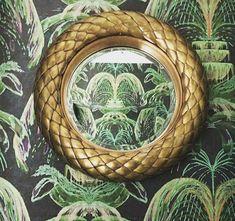 Eichholtz Vintage brass finish   bevelled mirror glass