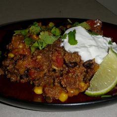 Mexican Quinoa Casserole Recipe