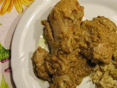 Pollo allo spumante