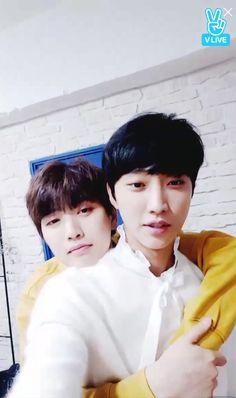 Jinyoung & Sandeul