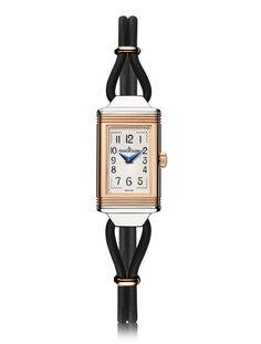 La montre Reverso ONE Cordonnet Jaeger-LeCoultre