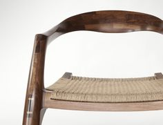 Stephen O'Briain's furniture Bone chair front detail