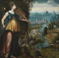 Franco-Flemish School mid-16th century Allegory of Music. - Pinterest
