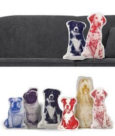Areaware dog Pillows