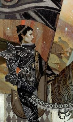 'Strength' 'Dragon Age Inquisition' Tarot Card Print