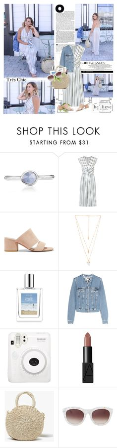 """Everything will work out in the end. You don't need to know how. You just have to trust that it will."" by mars ❤ liked on Polyvore featuring Monica Vinader, Miss Selfridge, Vince, Natalie B, Acne Studios, NARS Cosmetics and Clare V."