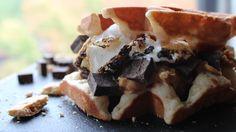 Smores Waffles  http://sweetstacks.com/smore-what/