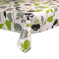 Smithfied Olive Wipeable Tablecloth
