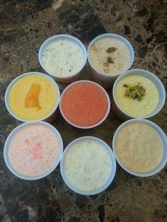 #limber #boricua #coconut #coconut/lime #maiz #piña colada #mango #leche #arroz #cherry/lime #made by me!