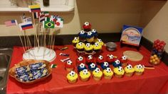 COLOMBIA World Cup colombian party colombia world cup 21 Birthday, Soccer Party, World Cup 2014, Fun Events, Rehearsal Dinners, Party Themes, Cupcakes, Holiday, Baby