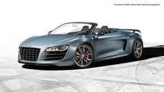 Audi GT Spyder, dream car now in convertible form! Who wants to get me this for my birthday? Audi R8 Gt, Audi Rs, 2012 Audi R8, Audi Cabriolet, Top Supercars, Audi Convertible, Sexy Cars, Classy Cars, Sport Cars