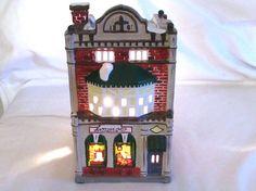 Dept 56 Cobblestone Antique Shop Snow Village by LasLovelies