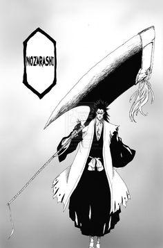 Kenpachis shikai in the manga. So sad it was cut from animé Manga Anime, Fanarts Anime, Manga Art, Anime Guys, Anime Art, Bleach Manga, Bleach Fanart, Shinigami, Bleach Characters