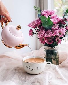 Teatime of the Soul Coffee And Books, I Love Coffee, Coffee Shop, Coffee Gif, Coffee Flower, Winter Coffee, Good Morning Coffee, Gd Morning, Coffee Photography