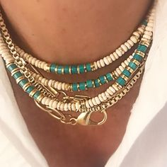 Stylish Light Grey Leather Cord Necklace with Gold Tone Sliding Tunnel Detailing
