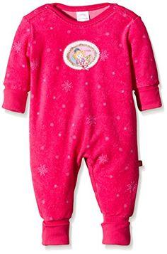 Schiesser Baby - M�dchen Zweiteiliger Schlafanzug Prinzessin Lillifee Anzug mit Vario, Gr. 86, Rot (pink 504)