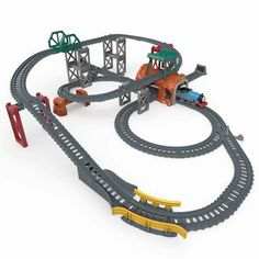 Thomas & Friends Fisher-Price Thomas and Friends TrackMaster Track Builder Set for sale online Thomas The Tank, Rolling Stock, Thomas And Friends, Train Set, Models, Classic Toys, Fisher Price, Model Trains, The Expanse