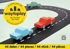 Schmatzepuffer® Kreative Ideen - WayToPlay King of the Road 44 Teile by Schmatzepuffer® online kaufen