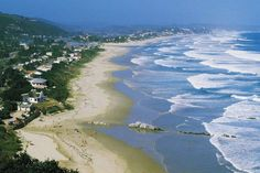 The town of Wilderness, on the Garden Route in the Southern Cape, South Africa.