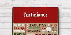 L'Artigiano is a chain of Italian food delivery restaurants known for their traditional recipes, quality ...
