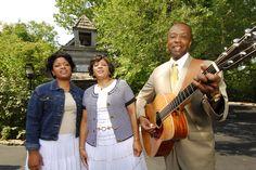 Reggie Saddler Family at Silver Dollar City during Southern Gospel Picnic