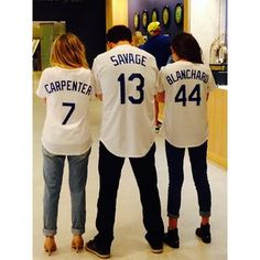 """And at a Los Angeles Dodgers game. 