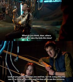 The Doctor and his Tardis. Definitely in my top three favourite episodes.