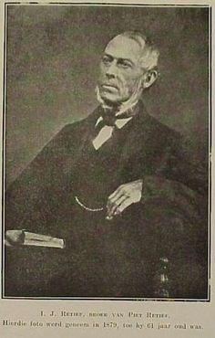 I.J. Retief, brother of Voortrekker leader Piet Retief