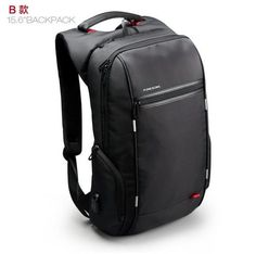 Brand External USB Charge Computer Bag Anti-theft Notebook Backpack 15/17 inch black Waterproof Laptop Backpack for Men Women