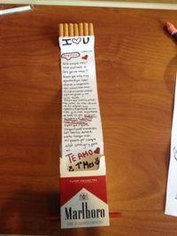 carta cigarrosUna carta de amor super larga.
