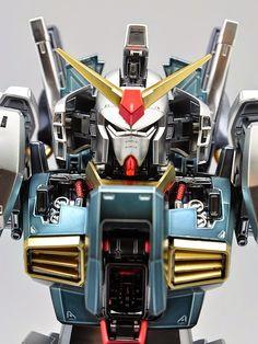 PG 1/60 Gundam Mk-II 'Extra Coat Finish Ver.' Modeled by Strike Gundam Holic