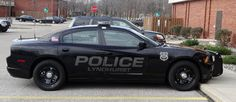 Stealth Police Graphics on Dodge Charger