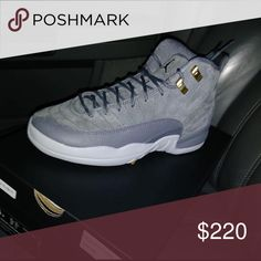 Wolf Grey Retro 12s Never Worn Before!! Jordan Shoes Athletic Shoes