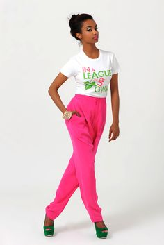 """AKA """"In A League of Our Own"""" tee"""