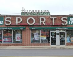 Hildebrand Sporting Goods - Roosevelt Road - Broadview IL  by Mark 2400, via Flickr