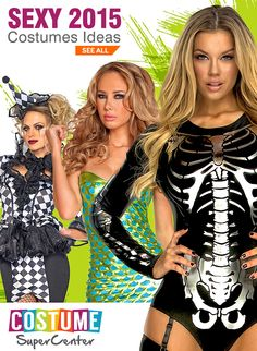 Checkout This Year's Hot New Sexy Halloween Costume Licenses & Styles New Halloween Costumes, Halloween Town, Adult Costumes, Halloween Crafts, Cosplay Costumes, Halloween Decorations, Halloween Ideas, Halloween Makeup, Costume Supercenter