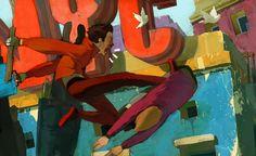Gang Fight - Vasili Zorin - Debut Art