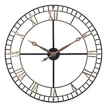STERLING AND NOBLE OPEN WORKS WALL CLOCK from Bed Bath & Beyond $69.99