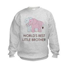 WORLD BEST LITTLE BROTHER Sweatshirt